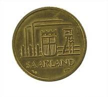 Sarre - 10 Francs - 1954 - Cup.Alu - TB+ - Saarland