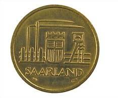 Sarre - 20 Francs - 1954 - Cup.Alu - TB+ - Saar