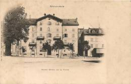 Cpa88 Gérardmer Grand Hotel De La Poste - Gerardmer