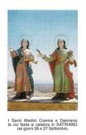 SS. COSMA E DAMIANO - SATRIANO -  Mm. 70X107 - M - PR - Religion & Esotericism