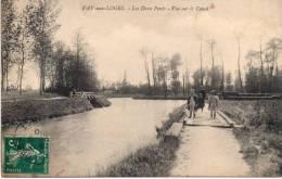 Fay-aux-Loges, Les Deux Ponts- Vue Sur Le Canal - Frankrijk