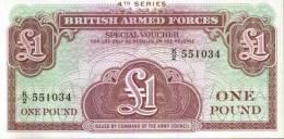 BRITISH ARMED FORCES - One Pound - Autorità Militare Britannica
