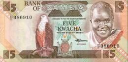 BANCONOTA DELLO ZAMBIA - 5 Kwacha - Zambia