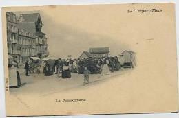 LE TREPORT - MERS : La Poissonnerie - B.F. Paris - Le Treport