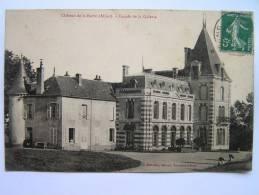 Cpa, Très Belle Vue, Château De La Barre, Allier, Façade De Al Galerie - Otros Municipios