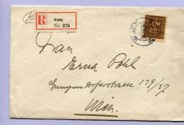 Einschreiben Reko Brief Schweden Visby Nach Wien (237) - Briefe U. Dokumente