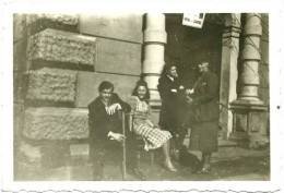 Ancienne Photo Groupe Villa Rolandseck Remagen Allemagne Rhin Et Danube 1e Armée B Pont WWII WW2 WW II 2 Tirage Velox - Orte