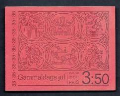 CARNET DE TIMBRES DE SUEDE- 5 PAIRES  TIMBRES DIFFÉRENTS ANNÉE 1971- NEUF **-  10 TIMBRES - Svezia