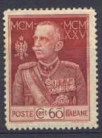 Italia Regno 1915 Sass.186 Dent 13 1/2 */MH VF/F - 1900-44 Victor Emmanuel III