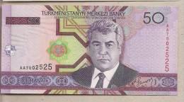 Turkmenistan - Banconota Non Circolata Da 50 Manat P-17 - 2005 - Turkmenistan