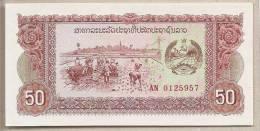 Laos - Banconota Non Circolata Da 50 Kip - Laos