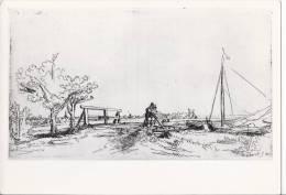 5430 - Rembrandt Le Pont De Six Rijksmuseum Amsterdam - Peintures & Tableaux