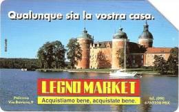 *ITALIA: LEGNO MARKET* - Scheda SIP Usata - Italy