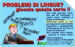 *ITALIA: CENTRI LINGUISTICI EF* - Scheda SIP Usata - Italy
