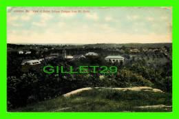 LEWISTON, MAINE - VIEW OF BATES COLLEGE CAMPUS FROM MT. DAVIS - THE HUGH C. LEIGHTON CO - - Lewiston