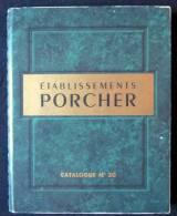 Ancien CATALOGUE Et + 1955 PORCHER 155 Pages PLOMBERIE SANITAIRES WC SALLE DE BAIN DOUCHES ACCESSOIRES ROBINETTERIE - Material Y Accesorios