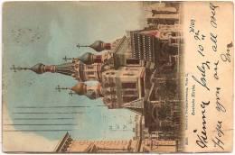 AUSTRIA - WIEN - Russische Kirche +++ Vers Yonkers, NEW-YORK, USA, 1901 +++ Deutsch's Postkartenverlag, Wien, #2020 ++ - Vienna