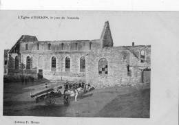 L'église D'HIRSON, Le Jour De L'incendie - Hirson