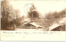 ESTONIA - PAIDE - GRUSS Aus WEISSENSTEIN ++ Vers USA, 1900 ++  Konteradmiral Hermann Baron Von Salza - Estonie