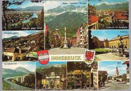 34-185 // A - INNSBRUCK  ALPENSTADT  Gelaufen Nach SOFIA 1984 - Austria