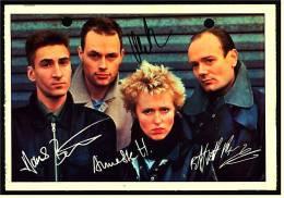 Alte Reproduktion Autogrammkarte  -  Band Ideal  -  Von Ca. 1982 - Autogramme