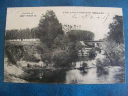 CP...ENVIRONS DE ST DIZIER..LE PONT CANAL A HOERICOURT MOSELAINS..PLAN ANIME..1915 - Otros Municipios