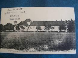CP...MONTMIRAIL..FERME DES GRENEAUX  OU NAPOLEON A PASSE LA NUIT DU 12 FEVRIER 1814..NON ECRITE - Montmirail