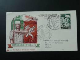 FDC Légion Etrangère Foreign Legion Algérie 1954 - Algeria (1924-1962)