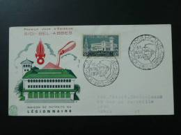 FDC Légion Etrangère Foreign Legion Algérie 1956 - Algeria (1924-1962)