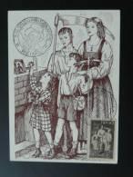 Carte Maximum Card Salon Du Prisionnier 1944 Reims - Guerre Mondiale (Seconde)