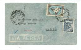 Lettre Pour La France (Paris) - Airmail