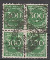 D.R.270,Viererblock,   Gestempelt. - Deutschland