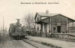 CPA - 03 - Environs De CHANTELLE - Gare D´USSEL - T.B.E.  - 461 - Frankreich
