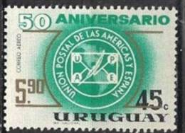 Uruguay. 1967. Mint YT A317. UPU. - Uruguay
