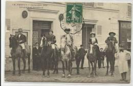 LE PERRAY (YVELINES - 78) - CPA - CAVALIERS ET AMAZONE - Le Perray En Yvelines