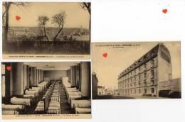 39599-ZE-78-Lot De  6 CPSM (9x14)-Institution RESVE & GROS----MONTLHERY - Cartoline