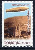 ROMANIA 2004 Flight Of Zeppelin LZ127 MNH/**.  Michel 5849 - 1948-.... Republics