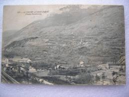 CPA 73 LE FRENEY Et ST SAINT ANDRE (haute Maurienne)  Chemin De Fer ,gare , Pont - Saint Jean De Maurienne