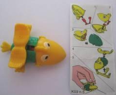 KINDER K03 N° 005 + BPZ - Puzzles