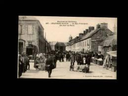 50 - BEAUMONT-HAGUE - La Rue Principale - Un Jour De Foire - 537 - Beaumont