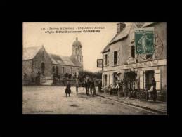 50 - BEAUMONT-HAGUE - L'Eglise - Hôtel-Restaurant Compère - 537 - Beaumont