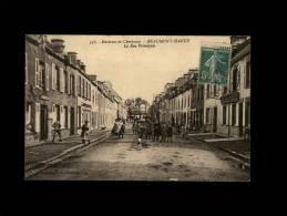 50 - BEAUMONT-HAGUE - La Rue Principale - Un Jour De Foire - 537 - 538 - Beaumont