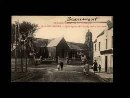 50 - BEAUMONT-HAGUE - L'Eglise Ogivale (XV Siècle), Sauf Sa Tour Ronde - 2350 - Beaumont