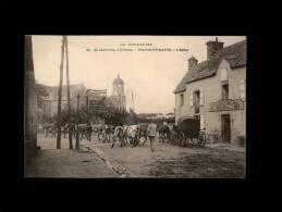 50 - BEAUMONT-HAGUE - L´Eglise - 22 - Vaches - Restaurant Neel - Beaumont