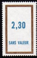FRANCE FICTIF N° F167 ** Timbre Neuf Gomme D´origine Sans Trace De Charnière - TB - Phantomausgaben