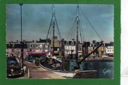 22 - Paimpol -CP SM  1959 Le Port  Les Quais -voitures D'époque  Belle Animation BATEAU DE PÊCHE  LA FAUVETTE PAIMPOL - Paimpol