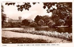POSTAL DE LONDRES  DE THE LAKE ST. JAMES PARK - Non Classés