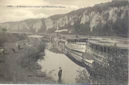 Beez : Le Bassin Et Les Rochers Vers Marche Les Dames - Animation Cochard 1914 - Drague Arr. - Namen