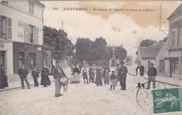Nanterre 92 - Avenue De Rueil Et Rue Des Bois - Garde Champêtre - !!! Tâches 1907 - Nanterre