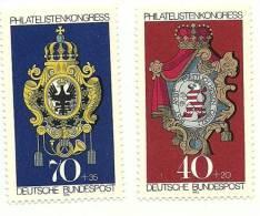 1973 - Germania 614/15 Stemmi Postali, - Francobolli